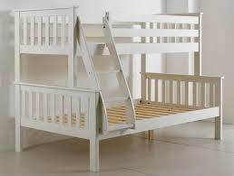 Bedmaster Atlantis White Triple Sleeper Bunk Bed Next Day - Triple bunk bed wooden