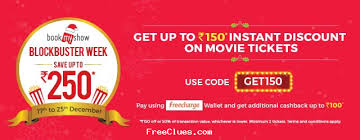 bookmyshow offer bookmyshow latest offers working coupons best discount deals may