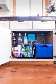Under Sink Organizer Kitchen - under kitchen sink organization creative cain cabin