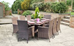 Modern Wicker Patio Furniture - outdoor rattan dining chairs