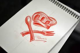 chef tattoo sketch thinkthank fotolog