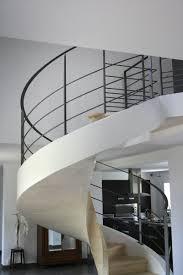 rambarde escalier design garde corps d u0027un escalier circulaire en béton ehi escalier