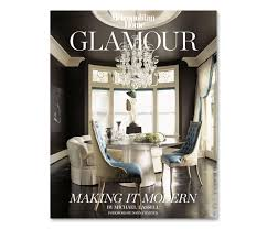 Design Library  Glamour  Making It Modern By Michael Lassell - Modern interior design magazine