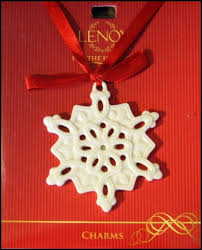 93 best lenox snowflake ornaments images on snowflake