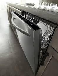 Kitchenaid Dishwasher Utensil Holder Kitchenaid Kdte204dss 24 In Built In Dishwasher W Third Rack