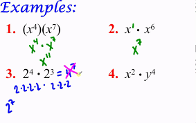 algebra 2 honors properties of exponents part 1 youtube
