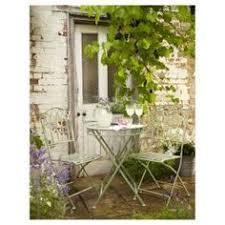 Ornate Metal Folding Bistro Chair The Bon Bon Club Style Challenge A Sampling Image Intensive