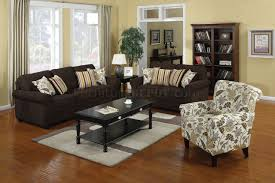 Black Sofa Pillows by 504241 Rosalie Sofa In Dual Colored Fabric By Coaster W Options
