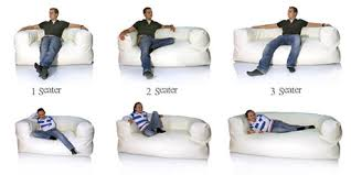 Couch Size Bean Bags Sizing Guide Find The Bean Bag Size For You
