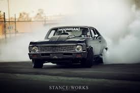 hoonigan cars kill all tires brian scotto u0027s 1972 chevy u0027napalm nova stanceworks