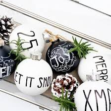 simple steps to create your own modern black and white christmas