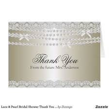 17 best bridal shower thank you cards images on thank