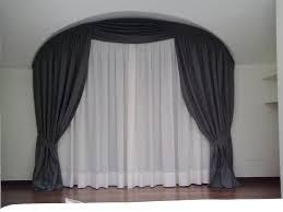 tende con drappeggio 40 idee per tende scorrevoli da interno ikea immagini decora