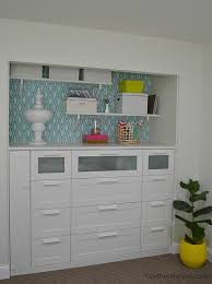 armoire closet ikea transform your office with diy built in cabinets