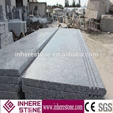 natural stone indoor anti slip grey granite stair g603 granite