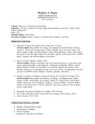 Resume Current Job by Resume