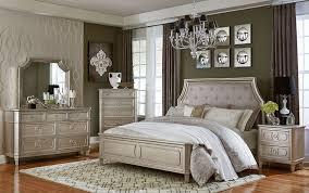 windsor silver panel bedroom set from standard furniture coleman