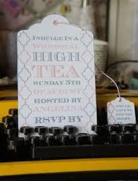 Kitchen Tea Invites Ideas Victorian Tea Party Invitations Party Ideas Pinterest Tea