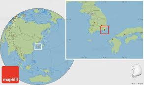 pusan on map savanna style location map of pusan