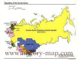 Ussr Map Russia And The Former Soviet Republics Maps Perrycastañeda Map