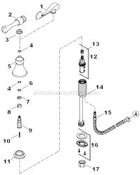 kohler k 16109 4 parts list and diagram ereplacementparts com