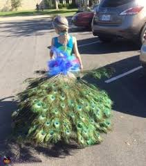 Peacock Halloween Costumes Peacock Halloween Costume Child Small Handmade 5 6 Peacock