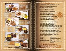 mccray u0027s 2 bbq our menu
