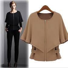women u0027s wool woolen cape dress half sleeve winter casual short c