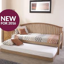 low prices gfw madrid wooden day bed with trundle bed