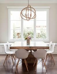 Chandelier Above Dining Table Chandelier Dining Room Table How High Height Buzzmark Info