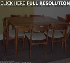Chair Mid Century Danish Modern Arne Vodder Teak Dining Table - Scandinavian teak dining room furniture