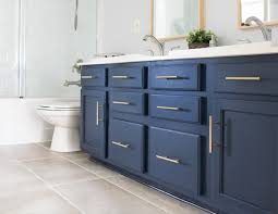 what paint is best for bathroom cabinets how to paint a bathroom cabinet the easy way craving some