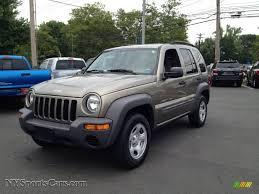 jeep liberty 2003 4x4 2003 jeep liberty sport 4x4 in light khaki metallic 613346