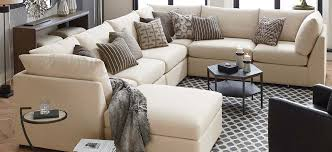 U Shaped Sectional Sofa Fabric Sectionals