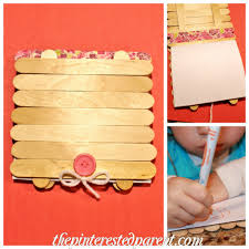 popsicle stick art journal u2013 the pinterested parent