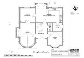 ground floor extension plans exle granny annex plans two storey side extension and loft