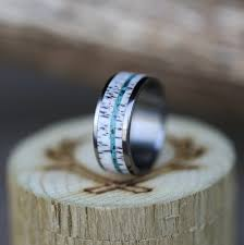 custom wedding ring turquoise rings staghead designs design custom wedding bands