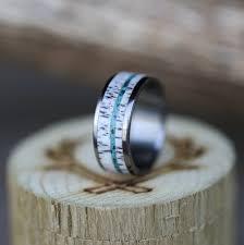 custom wedding rings turquoise rings staghead designs design custom wedding bands