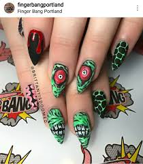 awesome nail art for halloween album on imgur