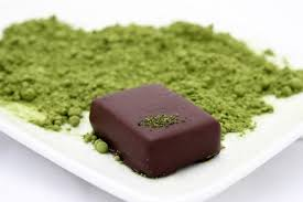 ginger green tea vegan organic dark chocolate truffles 6 piece