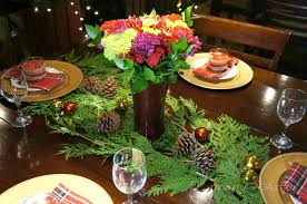 simple holiday home diy christmas dinner table decoration ideas
