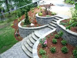 Retaining Garden Walls Ideas Landscaping Retaining Wall Ideas Inexpensive Garden Wall Ideas