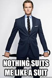 Suit Meme - nothing suits me like a suit misc quickmeme