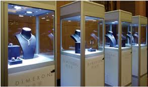 Jewelry Shop Decoration Choose Display Cases For Improving Sales With Proper Decoration
