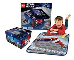 neat oh lego star wars medium toybox and playmat amazon co uk