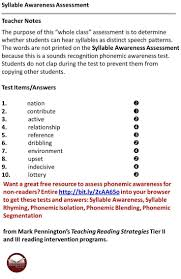 Spelling Worksheets 4th Grade 40 Best Syllable Worksheets Images On Pinterest Syllable