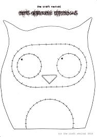 printable owl templates free template animal mask baby shower