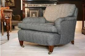 Tweed Armchair Edwardian Armchairs Foter