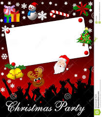 Invitation Card For Christmas Blank Christmas Party Invitations Vertabox Com