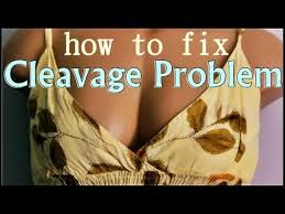 the cleavage problem how to fix a very plunging neckline youtube